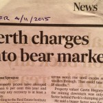 Perth charges into bear market